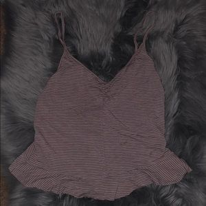 Pink and White Tank from American Eagle